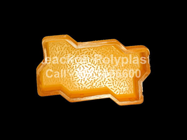 Interlocking Pvc Pavers Rubber Moulds RP-1-C-ZIG-ZAG-60, 80, 100 mm