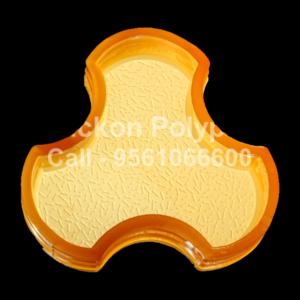 Interlocking Pvc Pavers Rubber Moulds RP-3-COLARADO-60, 80, 100 mm