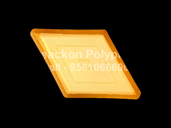 Interlocking Pvc Pavers Rubber Moulds RP-32-B-DIAMOND-60, 80, 100 mm