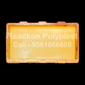 Interlocking Pvc Pavers Rubber Moulds RP-40-6X12-25MM-60MM