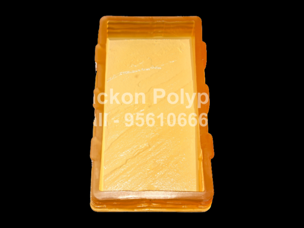 Interlocking Pvc Pavers Rubber Moulds RP-40-A-6x12-25mm-DC-60, 80, 100 mm-SC