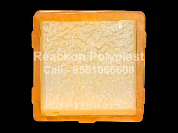 Interlocking Pvc Pavers Rubber Moulds RP-6-D-SQUARE-8X8-60MM-80MM