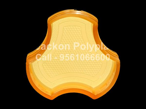 RP-7-COSMIC 60, 80, 100 mm Interlocking Pvc Pavers Rubber Moulds