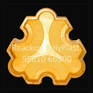 Interlocking Pvc Pavers Rubber MouldsRP-16 GALAXY 60mm