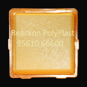 Interlocking Pvc Pavers Rubber Moulds RP 6 E SQUARE 8x8 60,80mm