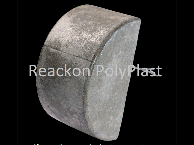 16 Cavity Half Round Rubber Mould Reackon Concretes